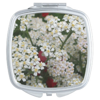 Flowers Compact Mirror