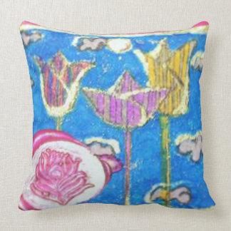 flowers cushion