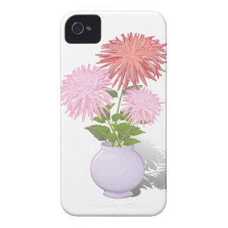 Flowers Dahlias in a vase iPhone 4 Case-Mate Cases