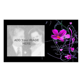 Flowers Deco Business Card
