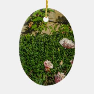 Flowers Christmas Ornament
