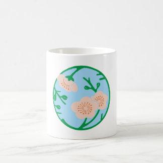 Flowers disk of flower disk coffee mugs