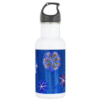 Flowers Drawing Spring Custom Water Bottle