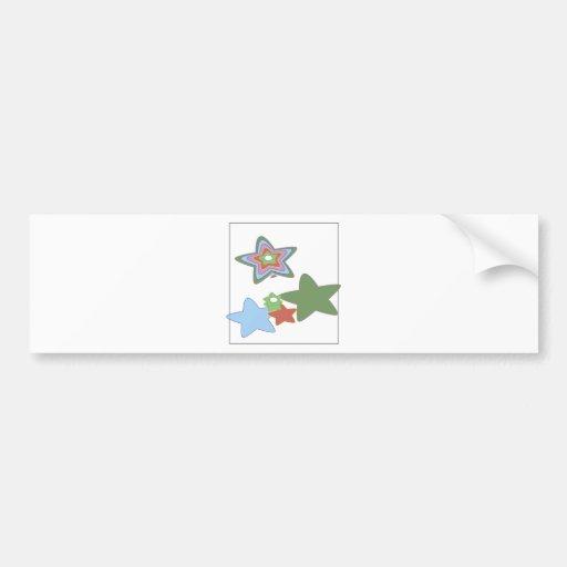 flowers-easter bumper sticker
