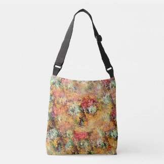 Flowers Face Crossbody Bag