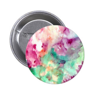 Flowers Floral Watercolor Pretty Mom Gifts 6 Cm Round Badge