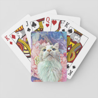 Flowers & Flutterbys Playing Cards