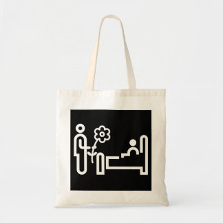 Flowers For A Patient Tote Bag