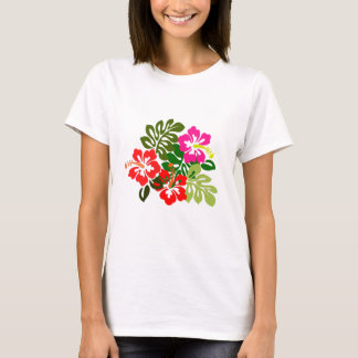Flowers for Hawaii Admissions Day - Hawaii Day T-Shirt