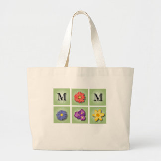 Flowers for mother's day large tote bag