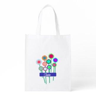 Flowers for Teacher reusable Bag