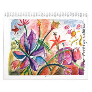 Flowers for the Year Calendars