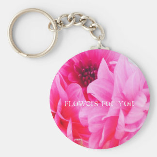 Flowers for you key ring