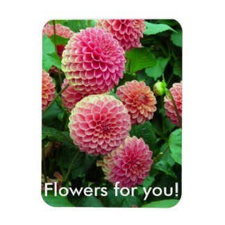 Flowers for You magnet