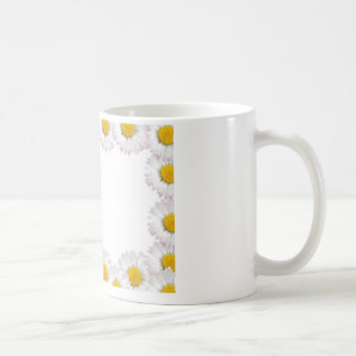 flowers framework coffee mug