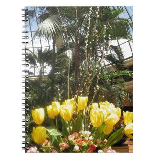 Flowers from Butterfly Garden LasVegas USA America Notebook