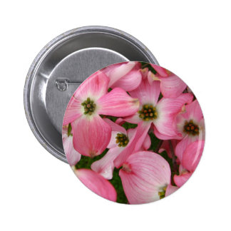 Flowers from Dogwood Pinback Button
