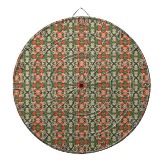 Flowers from Japan Dartboard
