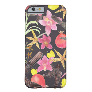Flowers Fruits and Fowl Barely There iPhone 6 Case