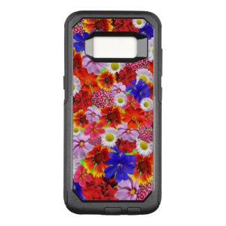 Flowers Galore, lots of different colourful OtterBox Commuter Samsung Galaxy S8 Case