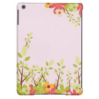 flowers garden pink iPad case