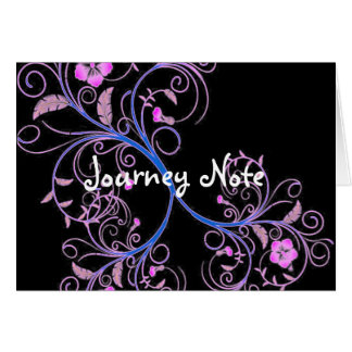Flowers Grow Journey Note Card