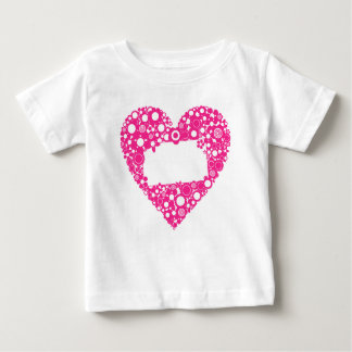 Flowers heart baby T-Shirt