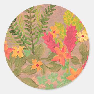 Flowers & Herbs art sticker