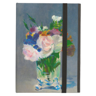Flowers in a Crystal Vase by Manet iPad Case