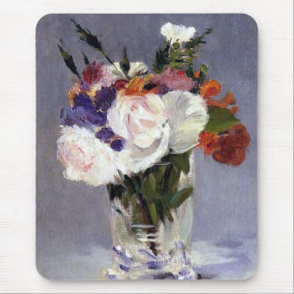 Flowers in a Crystal Vase Mousepad