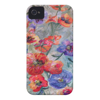 Flowers in a Field of Green iPhone 4 Case-Mate Case