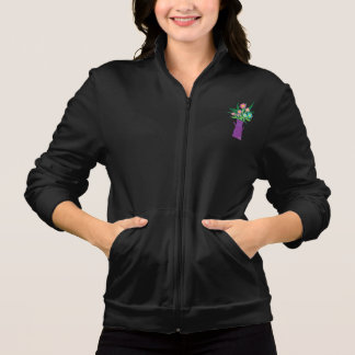 Flowers In A Pitcher Womens Jacket
