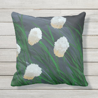 Flowers in a Storm Cushion