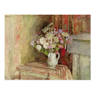 Flowers in a Vase, 1905 Postcard
