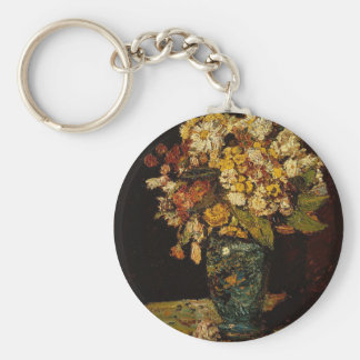 Flowers in a Vase Key Ring