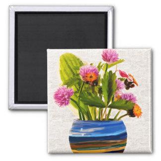 Flowers in a Vase Magnet
