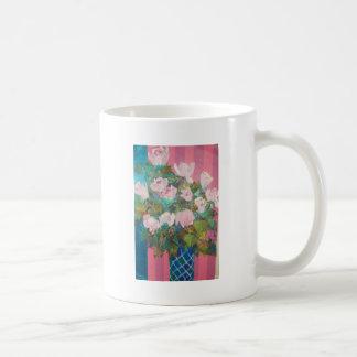 flowers in a vase mug