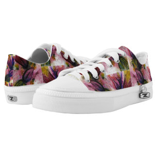 Flowers in Anguish Low Tops