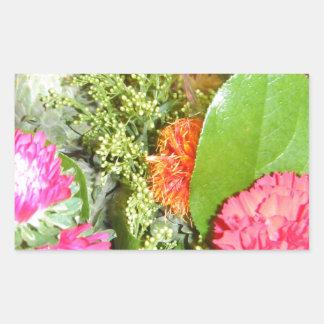 Flowers in Bloom Rectangular Sticker