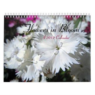 Flowers in Bloom Wall Calendars