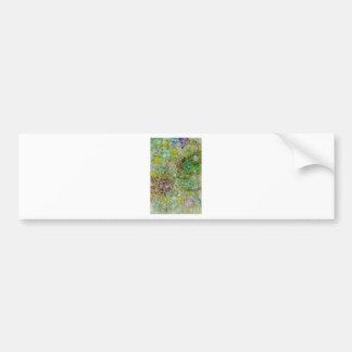Flowers in Cognito Bumper Sticker