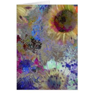 Flowers in Cornish Sunlight Card