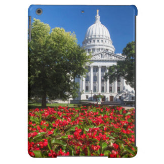 Flowers In Front Of State Capitol Building iPad Air Cases
