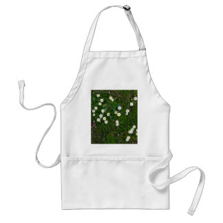 Flowers in Grass Aprons