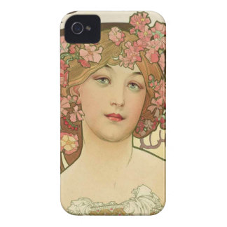 Flowers in her Hair Case-Mate iPhone 4 Case