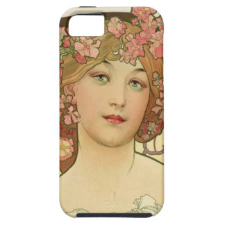 Flowers in her Hair iPhone 5 Cover