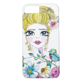 Flowers in her hair iPhone 7 case