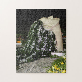 Flowers in Her Hair Jigsaw Puzzle