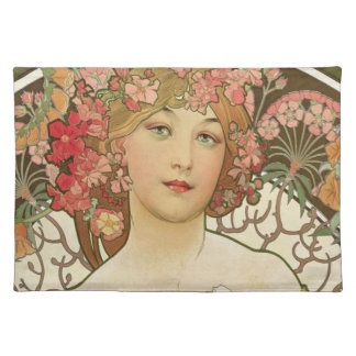 Flowers in her Hair Placemat