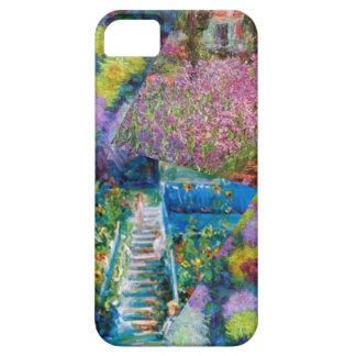 Flowers in Monet's garden are unique iPhone 5 Case